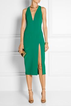 Cushnie et Ochs   Stretch-cady dress   NET-A-PORTER.COM