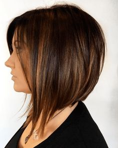 https://thestir.cafemom.com/beauty_style/209507/magical-bob-and-pixie/208942/extras/27 Partial Highlights, Brown Highlights, Straight Hair Highlights, Pixie Cut With Highlights, Bobs For Fine Hair, Brown Hair Bobs, Bob Haircut For Fine Hair, Bob Hairstyles For Fine Hair, Longer Bob Hairstyles