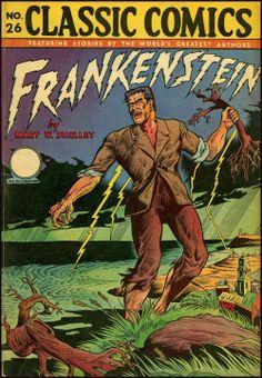 Classic Comics', Frankenstein, 1945