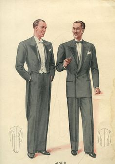 Men in dinner clothes.  Love it.