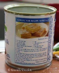 Sarah Cooks: Condensed Milk Lemon Slice