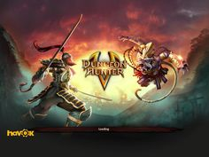 Dungeon Hunter 5 by GameLoft - Game Loading Screen - UI HUD User Interface Game Art GUI iOS Apps Games