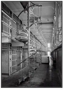 Alcatraz, the haunted place! I have been there several times. It has a distinctly creepy feel to it.