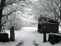 Vermont winter...
