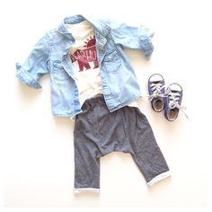 Charcoal harem leggings | carlymegan