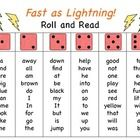 FREE! Roll and Read Fluency Activity :o)