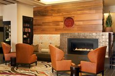 fireplaces in hotel lobbies - Google Search