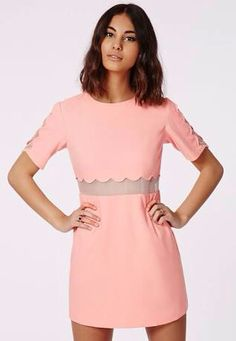 Pastel pink dress for casual and or formal occasions