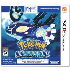 Used Pokemon Pocket Monsters Alpha Sapphire (Nintendo Japan Free Ship Kyogre Pokemon, Pokemon Games, Pokemon Pocket, Pokemon Moon, Pokemon Stuff, Pokemon Fusion, Pokemon Alpha Saphir, Sapphire Pokemon, Anime Characters