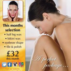 August offer 👙💅🏼 — August offer of the month. Hands or toes painted with waxing pack. Great pre holiday treatment.