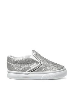 Vans Toddler Girls' Classic Slip-On Sneakers - Sizes 5-7 Infant; 8-10 Child | Bloomingdale's
