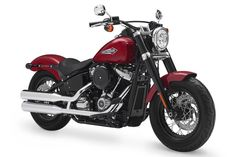 Bikes Harley-Davidson Motorcycles does away with the Dyna with its all-new 2018 Softail cruiser lineup Harley-Davidson takes the minimalist bobber concept to a new level with its 2018 Softail Slim. Harley Davidson Knucklehead, Harley Softail, Harley Davidson Motorcycles, Classic Harley Davidson, Used Harley Davidson, Harley Davidson Street, Motorcycle Companies, Motorcycle Clubs, Motorcycle Garage