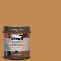 BEHR Premium Plus Ultra 1 gal. #M250-6 Toffee Tart Matte Interior Paint