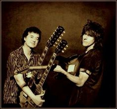 Jimmy Page & Jeff Beck