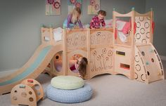 Playbed 529 - Looking for a magical kingdom for your favorite little princess, then look no further than CedarWorks Playbed 529.