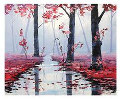 ABSTRACTO pintura moderna pintura al óleo por GerckenGallery