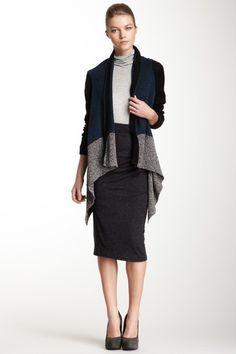 Marbled Knit Open Cardigan by Cut25 on @HauteLook