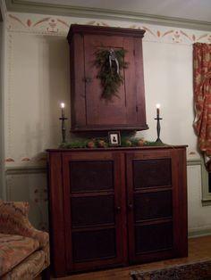 Ideas About Primitive Living Room On Pinterest Colonial Primitive