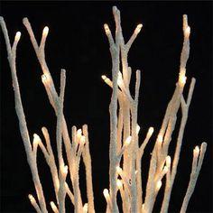 Белый Блеск Willow Light - Малый светом сад