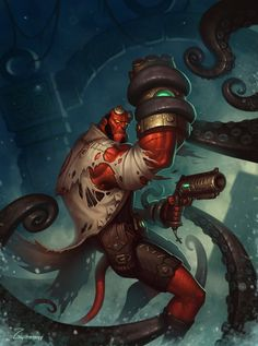 Hellboy by Eveginy Zagumennyy