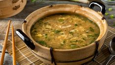 """Even better than takeout, this homemade egg drop soup is full of protein, good fats and your favorite veggies. We aren't """"yolking"""" when we say this recipe will become a favorite in your home. Whole Food Recipes, Soup Recipes, Vegetarian Recipes, Cooking Recipes, Nutrients In Eggs, Homemade Egg Drop Soup, Health Blog, Health Benefits Of Eggs, Pizza Bites"""