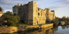 """John I """"Lackland"""" Plantagenet, King of England lived/died here 1216.  Newark Castle, Nottinghamshire"""