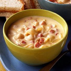 A ham and cheese soup for all macaroni and cheese fans!