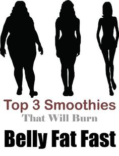 Top 3 Smoothies That Will Burn Belly Fat Fast