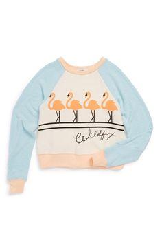 Dancing Flamingos Sweatshirt