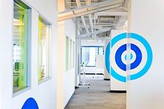 Branded space for client Skout's new office in San Francisco. Our design vision meets Custom Space's exact execution. For more of the space: http://customspaces.com/projects/kdet1mZsZN/skout/#!
