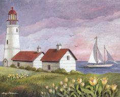 Lang May 2014 wallpaper: Lighthouse