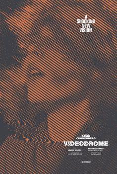 Affiche du film alternatif Videodrome par TheArtOfAdamJuresko