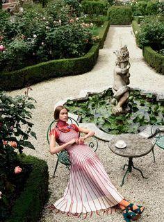 Birgit Kos by Mario Testino for Vogue US August 2017