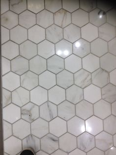 Octagonal small bathroom tile