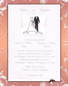 Invitatii Nunta 60288 | Invitatie cod 60288 din catalogul Kristall2011