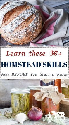 Previous pinner says:I learned this the HARD WAY! Don't wait until you get to your homestead to start building homesteading skills! You can start NOW, no matter where you live and the knowledge you gain will make the transition to farmlife SO much easier! Homestead Farm, Homestead Living, Homestead Survival, Survival Skills, Wilderness Survival, Survival Videos, Survival Quotes, Survival Guide, Starting A Farm