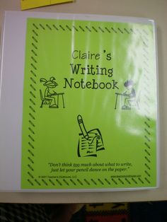 Great ideas for writer's workshop!