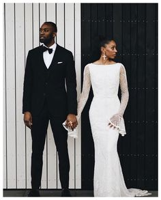 """WEDDING READY CO. on Instagram: """"COUPLE GOALS How stylish are these gorgeous newly weds?! 🔥 Bride looking stunning in her @j.andreatta_ gown (via @keepitsfind_bridal ) and…"""" Chic Wedding, Elegant Wedding, Wedding Styles, Wedding Gowns, Wedding Ideas, Wedding Photos, Wedding Inspiration, Dream Wedding, Trendy Wedding"""