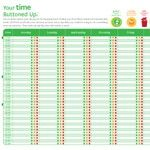 Time management printable