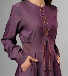 Wonderful Vrangler Jeans Dress at www.modestgarments.com / Casual 🌹🛍 #modestgarments #hijabstyle #hijabfashion #modest #muslimawear… Jeans Dress, Hijab Fashion, Muslim, Patterns, Casual, Jackets, Instagram, Dresses, Block Prints