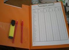 Homework checklist (word doc)