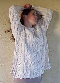 Ravelry: Dancing Vines Tunic & Pullover pattern by Karen Connor Designs Cable Knitting Patterns, Yarn Colors, Cable Knit Sweaters, Knitting Projects, Doll Clothes, Knit Crochet, Kids Outfits, Ruffle Blouse, Tunic