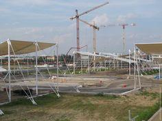 Cardo e Decumano   Expo cantiere – Expo 2015 #Expo2015 #Milan #WorldsFair