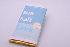 Dark Chocolate Bar 100g net (sea salt)