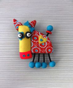 Pin Cow. by Klickart on Etsy