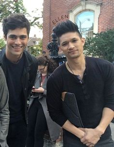 behind the scenes, warlock, and alec and magnus image