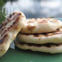 Naan (pão indiano) @ allrecipes.com.br