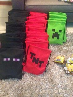 Bolsa de dulces minecraft