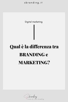 Il branding definisce chi tu sei, come vuoi apparire, qual è l'immagine che vuoi trasmettere al tuo target, mentre il marketing, invece, definisce come lo fai e quali strategie e tattiche adotti per raggiungere i tuoi obiettivi. #marketingitalia #marketing #branding #personalbranding #branddesign #brandingvsmarketing #brandingitalia #definizionidimarketing #imparailmarketing #personalbrand #brandidentity Personal Branding, Digital Marketing, Target, Self Branding, Target Audience, Goals