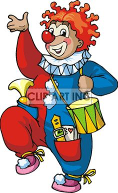graphicsfactory membership 20 a month or 50 a year  Several formats including vector. Vector formats Clip art of funny cartoon circus clown.